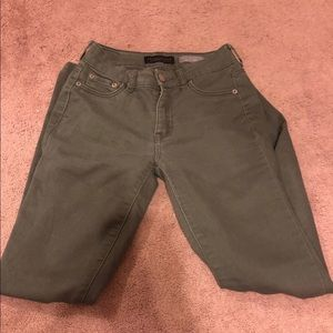 Aeropostale High waisted navy green jeans